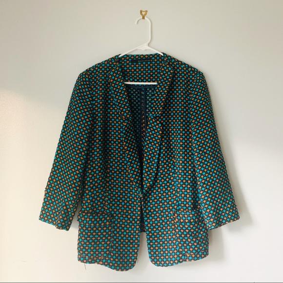 Brian Dales Jackets & Blazers - Brian Dales Italian Designer Polka Dot Blazer
